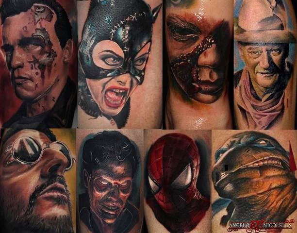 Tattoo interview with angelo nicolella for Good tattoo parlors near me
