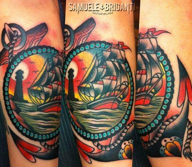 Samuele Briganti | Artists | The International London Tattoo ...