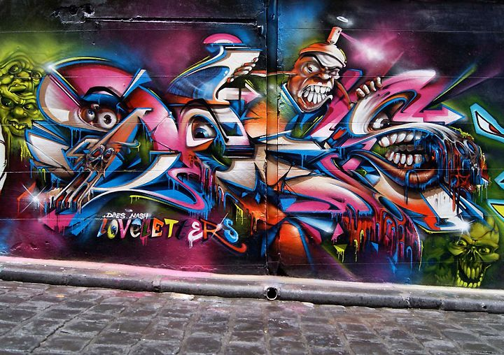 graffiti interview with does loveletters